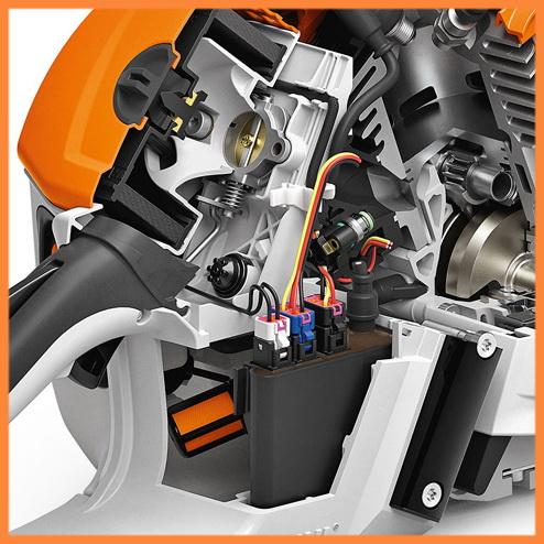 интеллектуальный двигатель Stihl