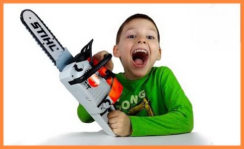 Stihl дитяча пилка на акумуляторах